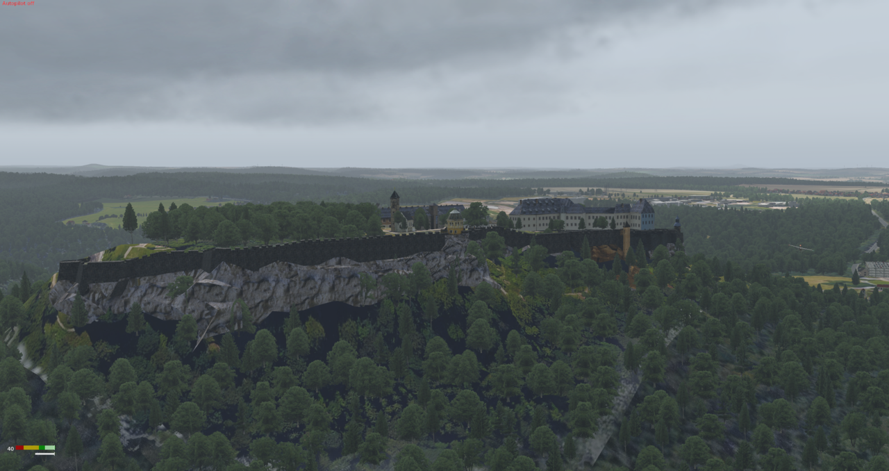 VFR Szenerie Elbflug 41008388rq