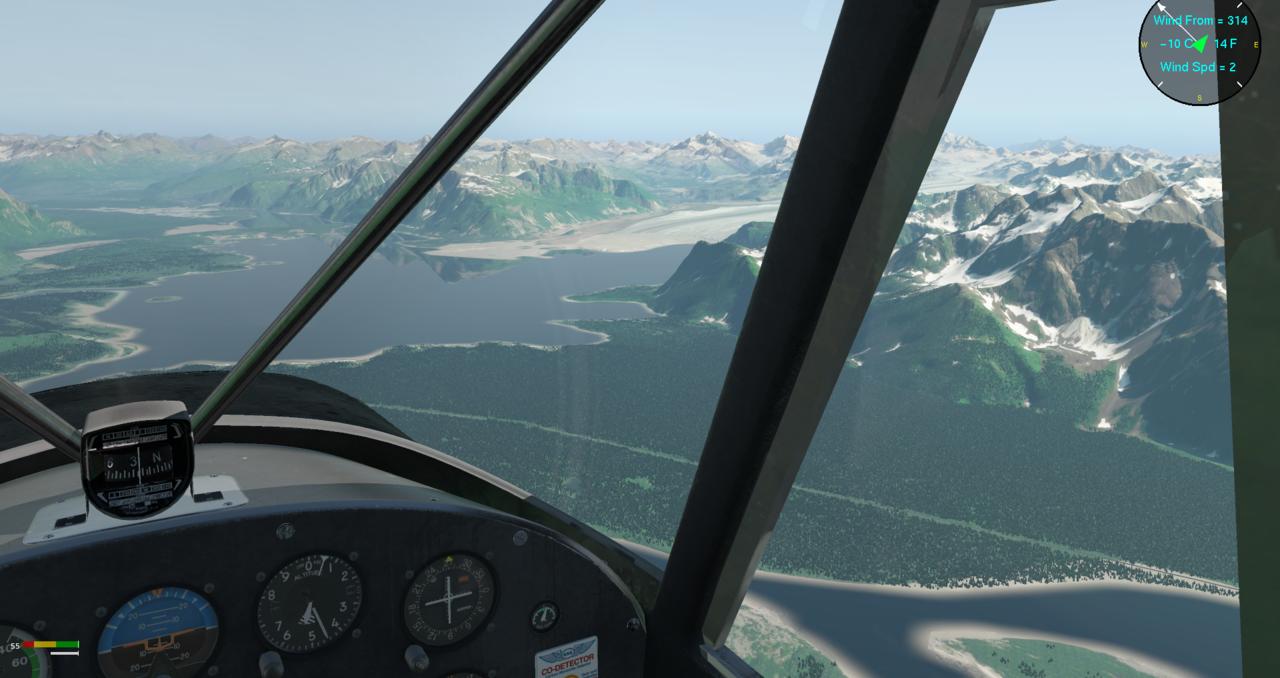 in die Chugach Mountains 41057900dt