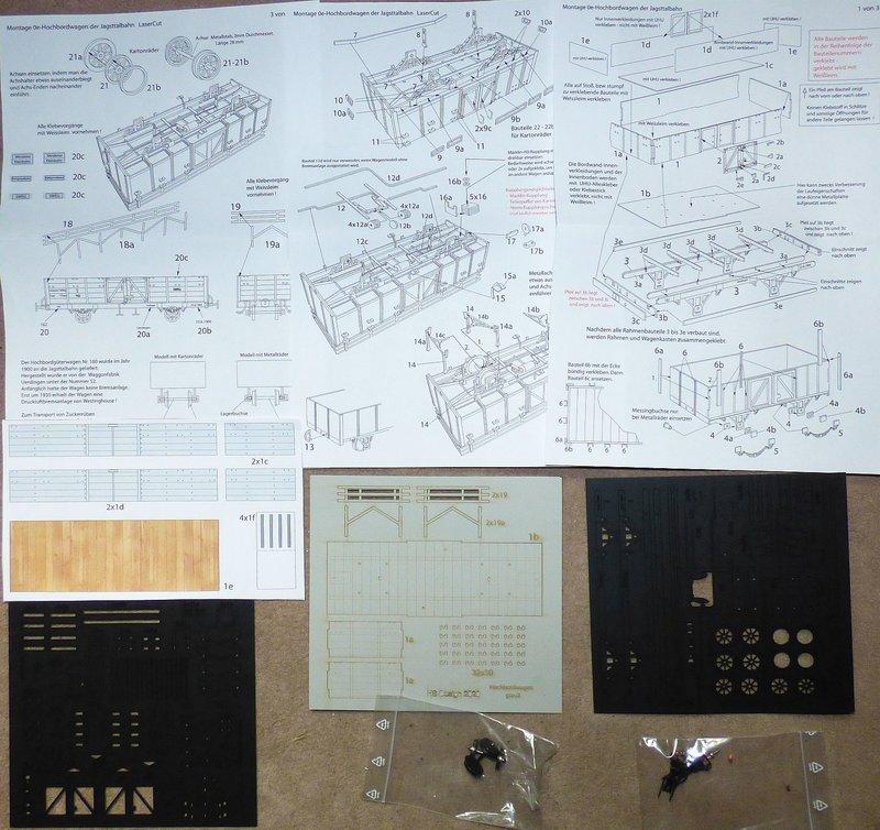 LaserCut-Hochbordwagen in 0e 41429139ur