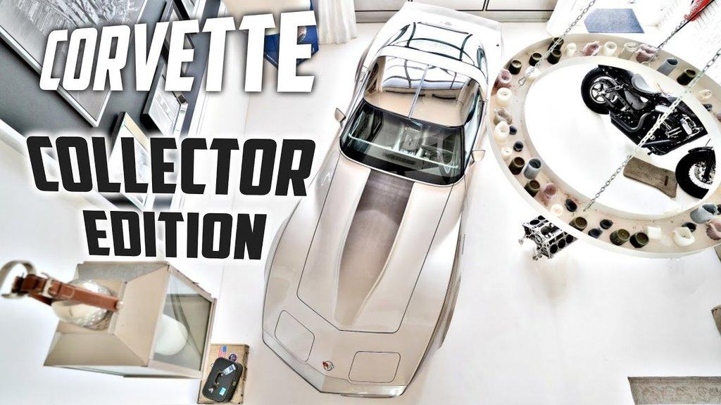 Corvette C3 Collector Edition Video 41485382hk