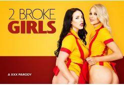 VRCosplayX 2 Broke Girls A XXX Parody 2700p - MBATT