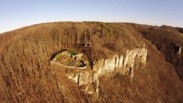 Burg Obergreifenstein - ca. 1:100 41575678dq
