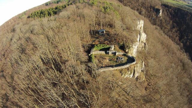 Burg Obergreifenstein - ca. 1:100 41575683me