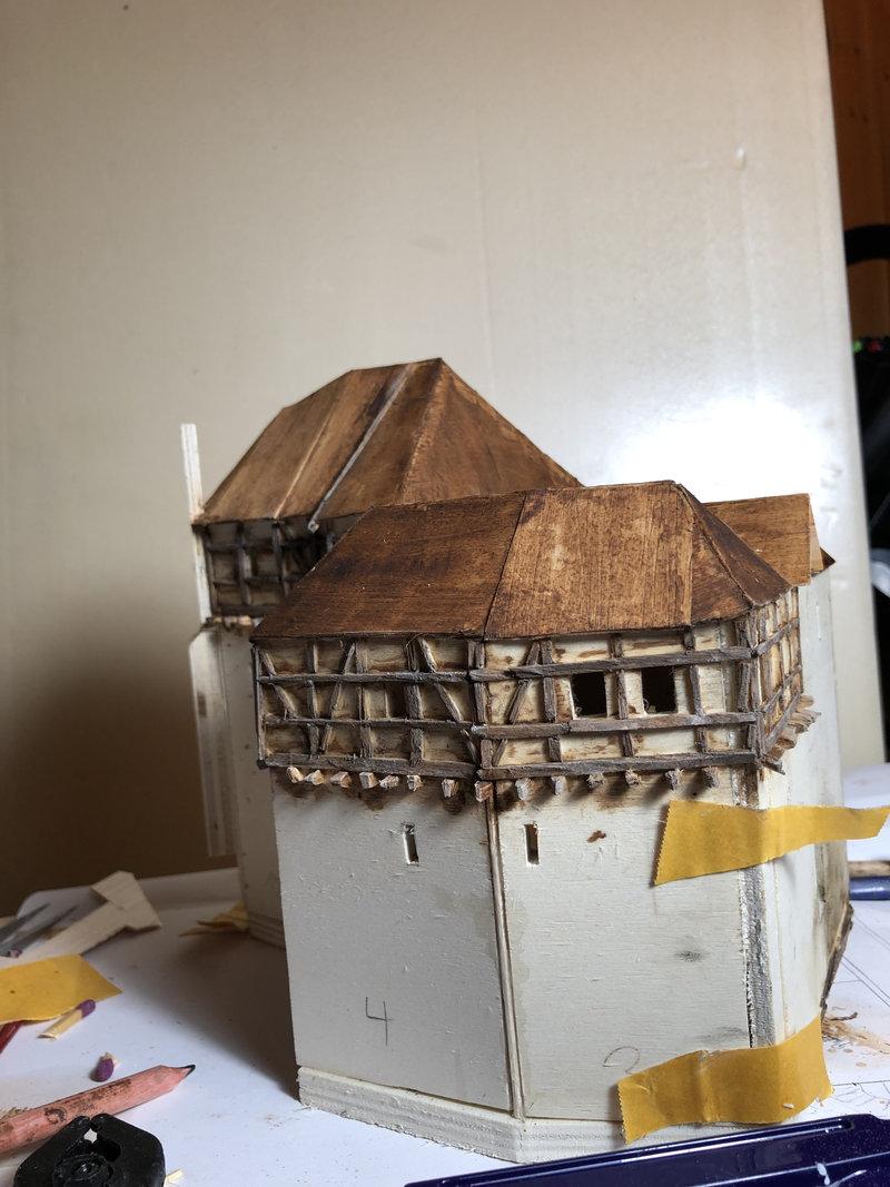 Burg Obergreifenstein - ca. 1:100 41584424kf