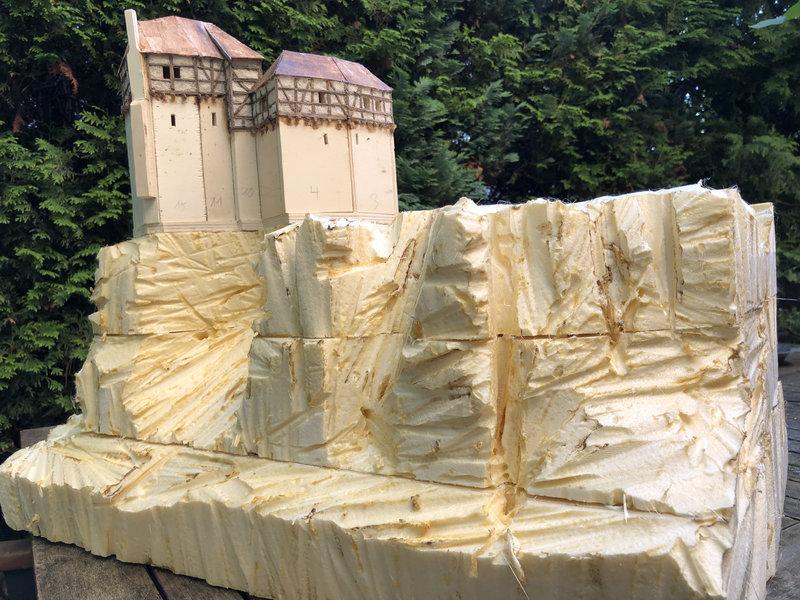 Burg Obergreifenstein - ca. 1:100 41598399bx