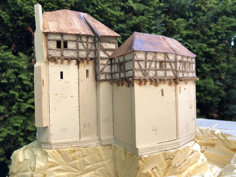 Burg Obergreifenstein - ca. 1:100 41598400sb