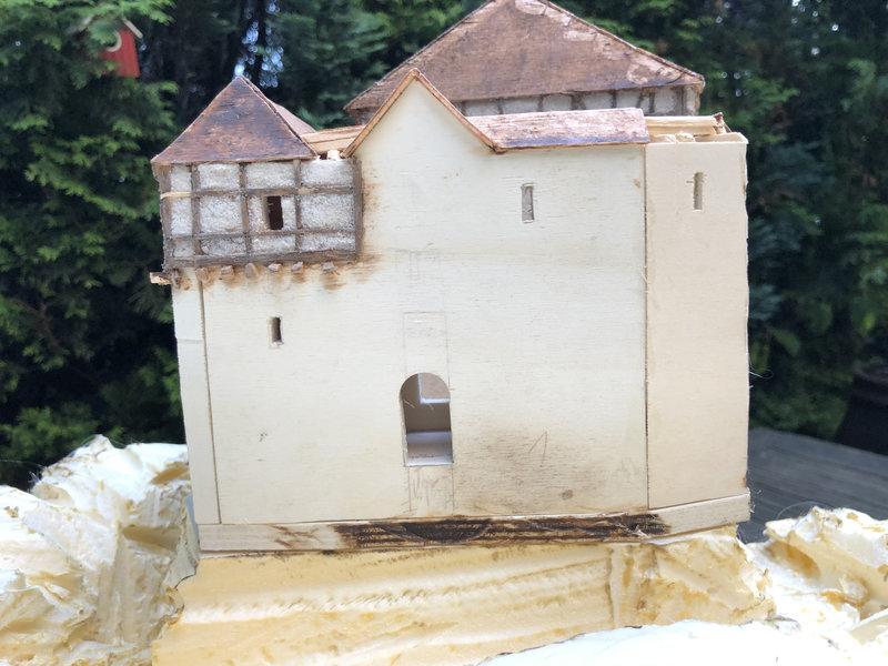 Burg Obergreifenstein - ca. 1:100 41598467ck