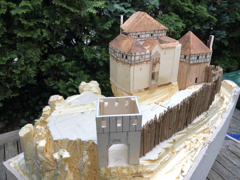 Burg Obergreifenstein - ca. 1:100 41639347fw