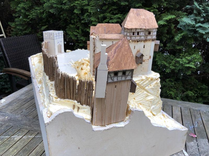 Burg Obergreifenstein - ca. 1:100 41639348yr