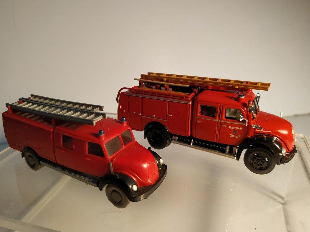 Feuerwehrmodelle aus der Atlas-Collection   41639509rk