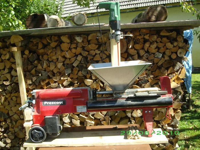Super Presse für Holzbriketts - HaustechnikDialog QG87