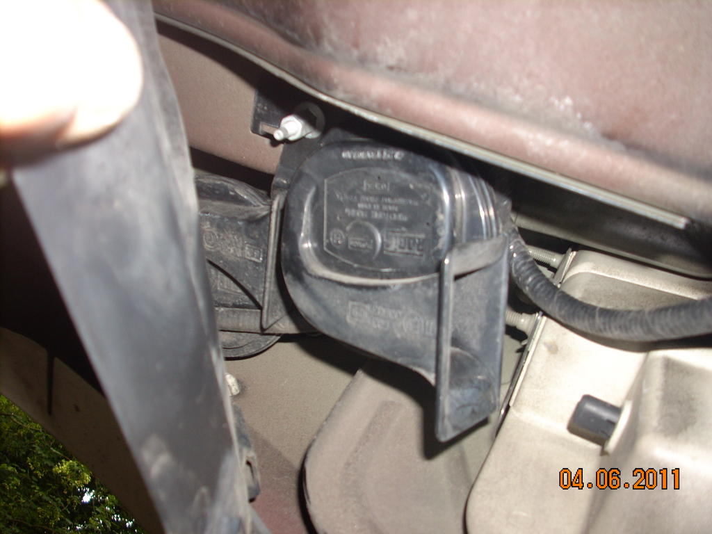 Horn Location Ford Explorer And Ranger Forums Serious 2007 Fuse Box Img