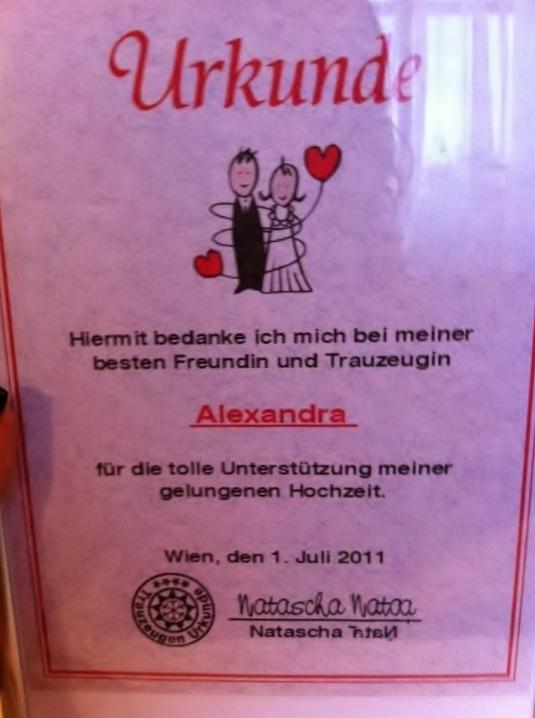 Geschenk fur trauzeugen forum